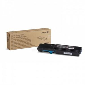 Тонер-картридж голубой (6K) Phaser 6600/WC6605