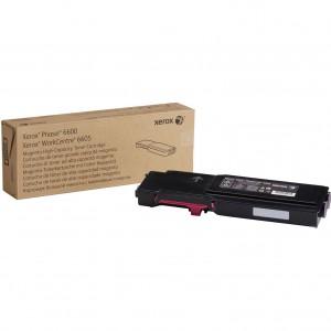 Тонер-картридж пурпурный (6K) Phaser 6600/WC 6605