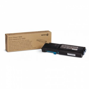 Тонер-картридж голубой (2K) Phaser 6600/WC 6605