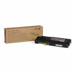Тонер-картридж желтый (2K) Phaser 6600/WC 6605